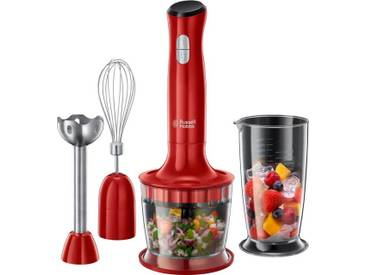 RUSSELL HOBBS Stabmixer Desire 3in1 24700-56, rot