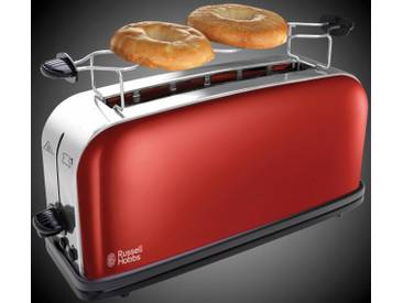 RUSSELL HOBBS Toaster Colours Plus+ Flame Red 21391-56, rot