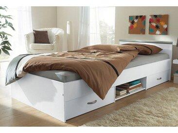 Funktionsbett, weiß, 90x200 cm, Parisot
