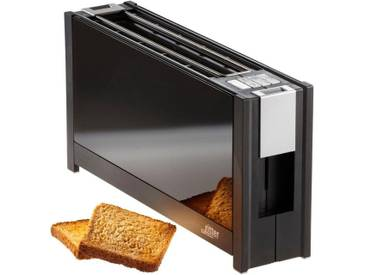 Toaster , schwarz, »volcano 5 schwarz«, Ritter