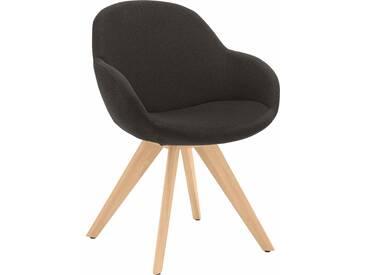 NIEHOFF SITZMÖBEL Schalen-Sessel »Coppa«, grau, mit Drehfunktion