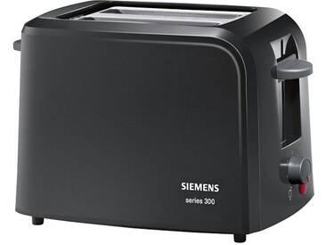 SIEMENS Toaster schwarz, »TT3A0103«