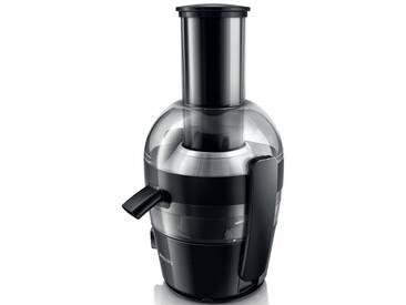 Philips Entsafter HR1855/00, schwarz, spülmaschinenfest