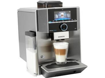 SIEMENS Kaffeevollautomat EQ.9 s500 TI9555X1DE, silber