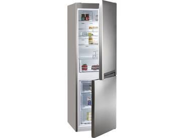 BAUKNECHT Kühl-/Gefrierkombination, 188,8 cm hoch, 59,5 cm breit, Energieeffizienz: A+++ silber, Energieeffizienzklasse: A+++