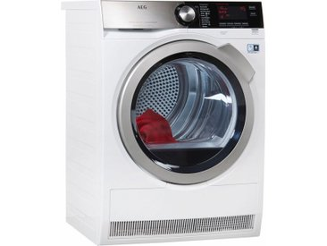 Wärmepumpentrockner LAVATHERM T8DE86685, weiß, Energieeffizienzklasse: A+++, AEG