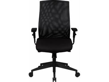 Bürostuhl »David«, schwarz, strapazierfähig, Amstyle