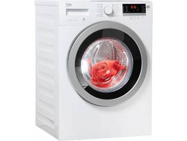BEKO Waschmaschine WYAW 714831 LS, Fassungsvermögen: 7 kg, weiß, Energieeffizienzklasse: A+++
