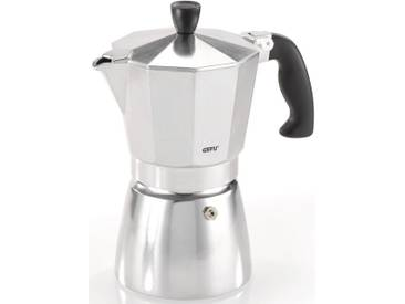 GEFU Espressokocher Lucino, silber