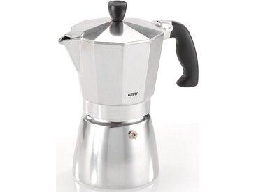 GEFU Espressokocher Lucino, silber, Tassenanzahl: 6