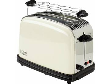 RUSSELL HOBBS Toaster Colours Plus+ Classic Cream 23334-56, beige
