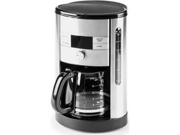 Filterkaffeemaschine Design Aroma Pro 42704, silber, Gastroback