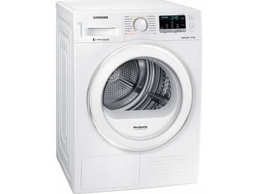 Wärmepumpentrockner DV5000 DV80M5210IW/EG, weiß, warm, , , Energieeffizienzklasse: A+++, Samsung