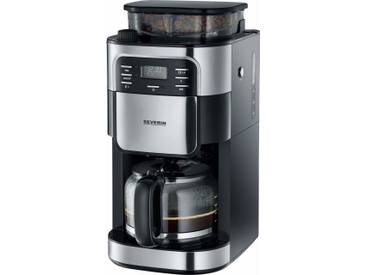 Kaffeemaschine mit Mahlwerk KA 4810, silber, Severin