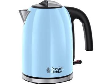 RUSSELL HOBBS Wasserkocher Colours Plus+ Heavenly Blue 20417-70 blau