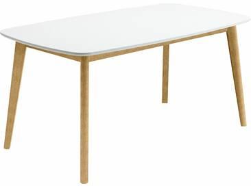 NIEHOFF SITZMÖBEL Esstisch in Bootsform, beige, Breite 140 cm, eckig, »SOHO«, FSC®-zertifiziert