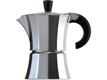 Kaffeebereiter Morosina, silber, Tassenanzahl: 3, gnali & zani