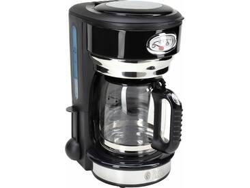 RUSSELL HOBBS Filterkaffeemaschine Retro 21701-56 Classic Noir, schwarz
