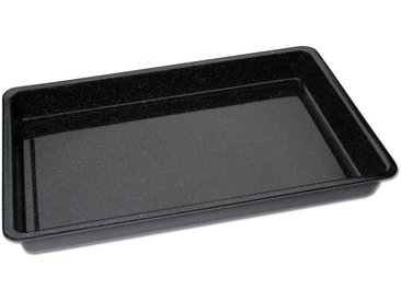 Backblech , schwarz, 29 x 42 x 4cm, »Emaille«, CHG