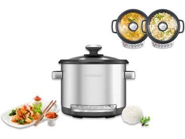 Küchenmaschine mit Kochfunktion Design Multicooker Advanced silber, Gastroback