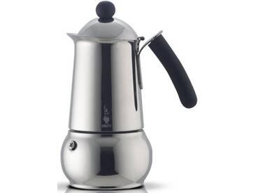 BIALETTI Espressomaschine Class, silber, Für 6 Tassen, induktionsfähig