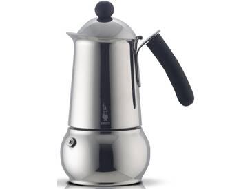 BIALETTI Espressokocher silber, Für 6 Tassen, induktionsfähig, »CLASS«