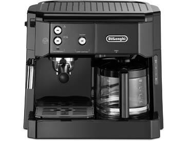 Siebträger-/Filterkaffeemaschine BCO 411.B, schwarz, DeLonghi