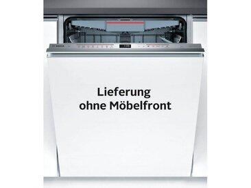 BOSCH vollintegrierbarer Geschirrspülmaschine Serie 6, Serie 6 SMV68MD02E, 9,5 l, 14 Maßgedecke, Energieeffizienz: A++, edelstahlfarben