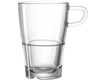 LEONARDO Latte Macchiato Tasse transparent, »SENSO«, spülmaschinengeeignet