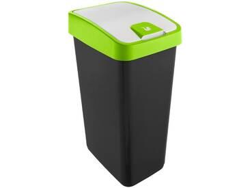 Abfallbehälter mit Flip-Deckel »magne« grün, keeeper