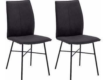 NIEHOFF SITZMÖBEL Design Stuhl  »Capri«, grau, strapazierfähig