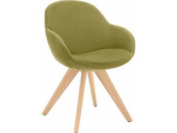 NIEHOFF SITZMÖBEL Schalen-Sessel , grün, ohne Drehfunktion, »Coppa«