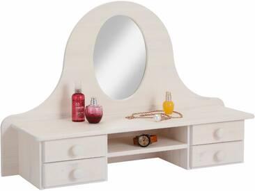 Home affaire Spiegelaufsatz »Melody«, weiß, B/H/T, mit Schubkästen, FSC®-zertifiziert