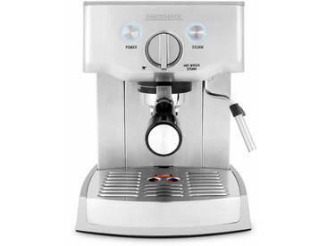 Espressomaschine Design Espresso Pro 42709 silber, Gastroback