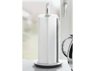 Küchenrollenhalter Kunststoff Metall, weiß, Leifheit