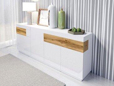 Sideboard , weiß, »SILKE«, FSC®-zertifiziert, TRENDMANUFAKTUR