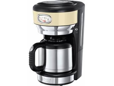 RUSSELL HOBBS Filterkaffeemaschine Retro 21712-56 beige