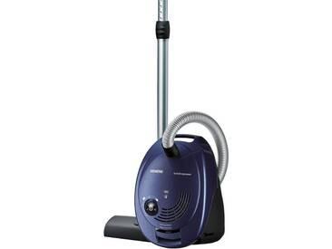 SIEMENS Bodenstaubsauger VS06A111, blau, Energieeffizienzklasse: A