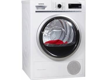 SIEMENS Wärmepumpentrockner iQ700 WT47W5W0, weiß, warm, , , Energieeffizienzklasse: A+++
