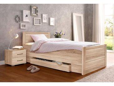 Komfortbett, braun, 100/200cm, verstellbar, , ,
