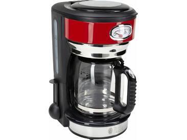 RUSSELL HOBBS Filterkaffeemaschine Retro 21700-56 rot