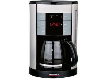 Filterkaffeemaschine 42703 Design Coffee Aroma Plus, silber, Gastroback