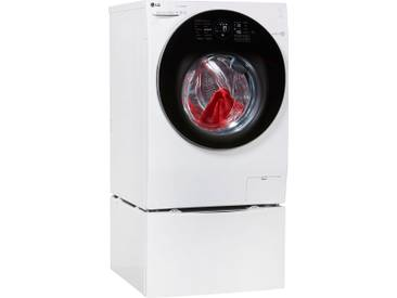Waschmaschine F 4WM 10TWIN, Fassungsvermögen: 10 kg, weiß, Energieeffizienzklasse: A+++, LG