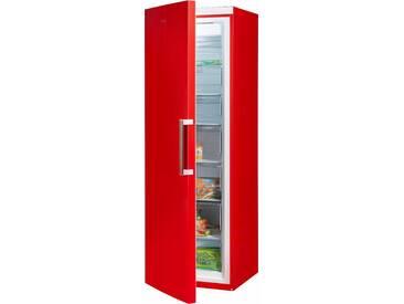 GORENJE Gefrierschrank, rot, Energieeffizienzklasse: A++