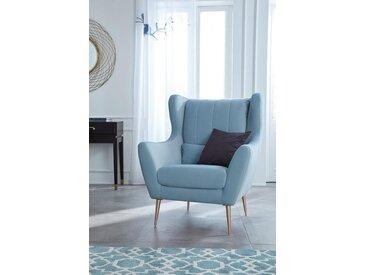 Loungesessel »Teft«, blau, FSC-Zertifikat, , , Guido Maria Kretschmer Home&Living