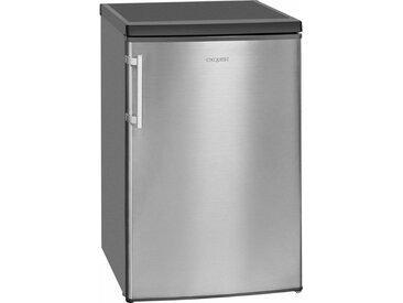 Table Top Kühlschrank KS 16-4.1 RVA++ Inox look, silber, Energieeffizienzklasse: A++, exquisit
