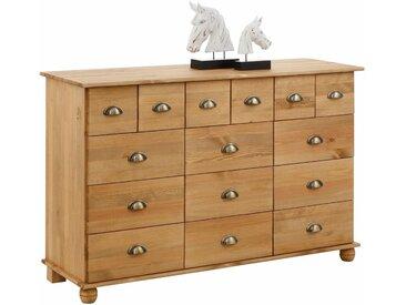 Home affaire Kommode »Anoushka«, beige, 15 Schubladen, FSC®-zertifiziert
