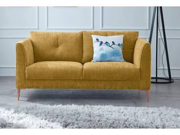 GMK Home & Living 2-Sitzer »Fock«, gelb, 167cm, FSC®-zertifiziert, Guido Maria Kretschmer Home&Living