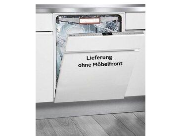 NEFF vollintegrierbarer Geschirrspüler Serie 7, Serie 7 GV7805T / S517T80X5E, 7,5 l, Energieeffizienz: A+++, edelstahlfarben, Energieeffizienzklasse: A+++