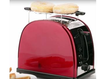 RUSSELL HOBBS 2-Schlitz Toaster Legacy Red 21291-56, rot